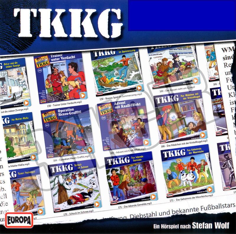 Ein Fall für TKKG - Folgen 151-190