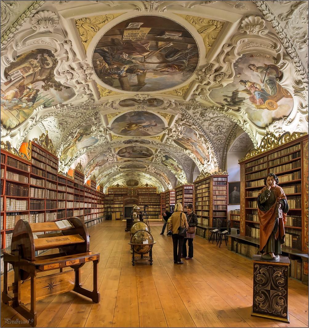 Prague - La bibliothèque de Strahov  Pb_542.0-4225f06