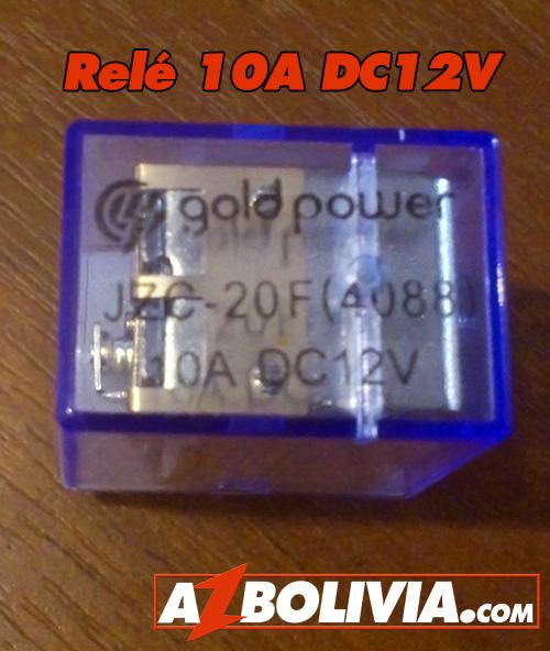 Relé 10A DC12V