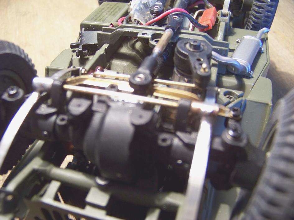 Jeep Danbury 1/16e, motorisée Sumo + remorque Bantam 1/4 t 100_2899-434a7a5