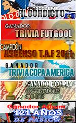 Futgoolero Alboadicto ,Ganador Trivia C America Campeón A 2ª Div ,Conquistadores  Album 121 años