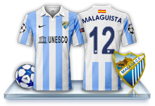 Camiseta Málaga CF para avatar 7-3f77f9c